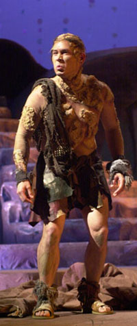 Adrian Alita as Caliban