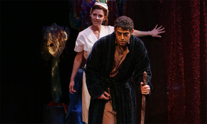 Jake Dogias as Jabe Torrance in Orpheus Descending